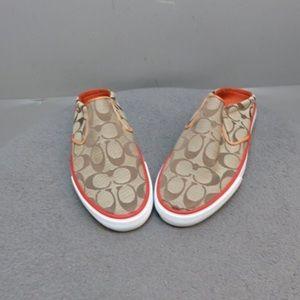 Coach Women Slip on Shoes